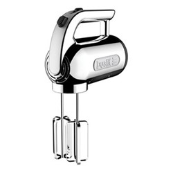 Hand mixer, polished chrome