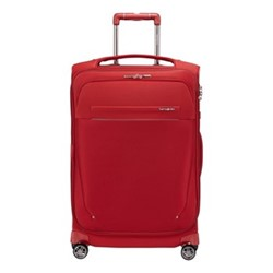 B-Lite Icon Spinner expandable suitcase, 63 x 42 x 26/30cm, red
