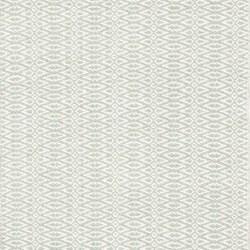 Fair Isle Woven cotton rug, W122 x L183cm, ocean/ivory