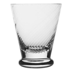 Atlantic Spiral footed tumbler, 11.5cm - 260ml, clear