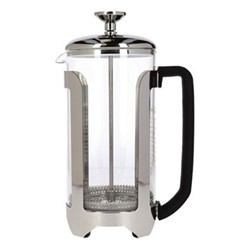 Le'Xpress Cafetiere, 1 litre, stainless steel