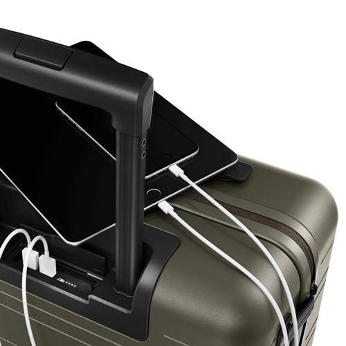 H5 Cabin trolley suitcase, W40 x H55 x D20cm, dark olive