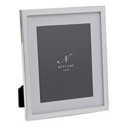 "Newton Photo frame, 8 x 10"", silver plated"