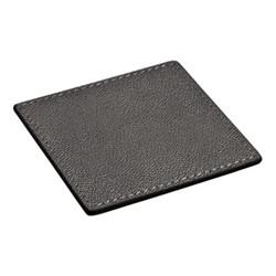 Tao Square coaster, 9.5cm, titanium
