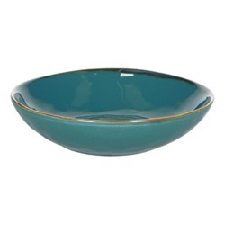 Concerto Set of 4 soup plates, Dia21cm, teal blue