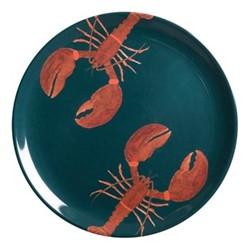 Lobster Melamine dinner plate, 25.4cm