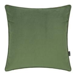 Velvet cushion, W45 x L45cm, moss
