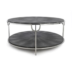 Katia Coffee table, H46 x D98cm, grey