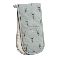Highland Stag Double oven glove, 84 x 18cm