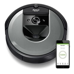 Roomba Robotic vacuum cleaner - i7150 Voucher, black