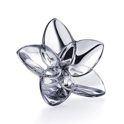 The Bloom Collection Flower ornament, W4 x L9cm, silver