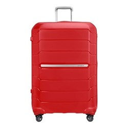 Flux Spinner expandable suitcase, 81 x 55 x 36/40cm, red