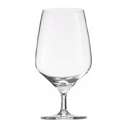 Bistro Line Set of 6 white wine glasses, 348ml, crystal clear