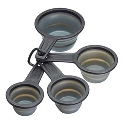 Four piece measuring cup set