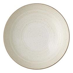 Nature Deep plate, Dia28cm, sand