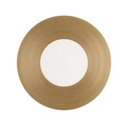 Hemisphere Dessert plate, Dia21cm, copper metallic