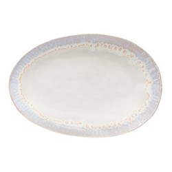 Brisa Sal Large oval platter, 41cm, white