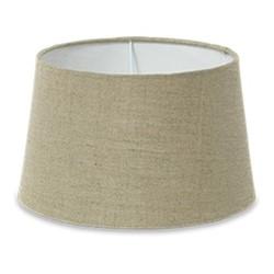 Dia Jute Medium jute lampshade, H18.5 x D25.5/30.5cm, natural