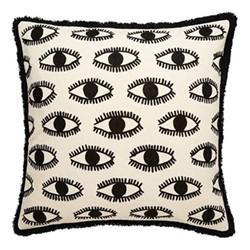 Eyes Cushion, L50 x W50cm, Multi