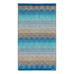 Tolomeo Beach towel, 100 x 180cm, multi blue