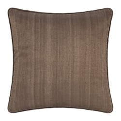 Silk cushion, 45 x 45cm, mocha
