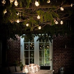 Festoon lights, L9.5m - 20 Bulbs