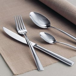 Piemont 24 piece cutlery set, stainless steel