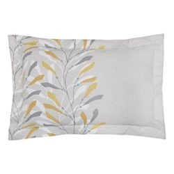 Sea Kelp Oxford pillowcase, L48 x W74 cm, ochre