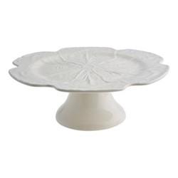 Cabbage Cake stand, 31 x 13cm, beige