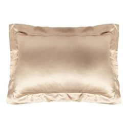 Signature Oxford pillowcase, L50 x W75cm, sand