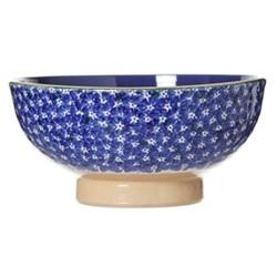 Lawn Salad bowl, D28 x H15cm, dark blue