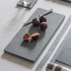 Tapas board, H2 x W40 x D20cm, raw marble