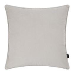 Velvet cushion, W45 x L45cm, beige