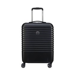 Caumartin Plus 4-Double wheel slim cabin trolley case, 55cm, black