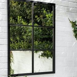 Fulbrook Mirror, 70 x 100cm, powder coated steel