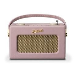Revival Uno DAB/DAB+/FM digital radio with alarm, H14 x W21 x D9cm, dusty pink