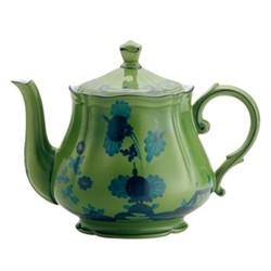 Oriente Italiano Teapot, 1.09 litre, malachite