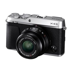 X-E3 Mirrorless camera with XF 23 mm f/2, 24.3MP, silver