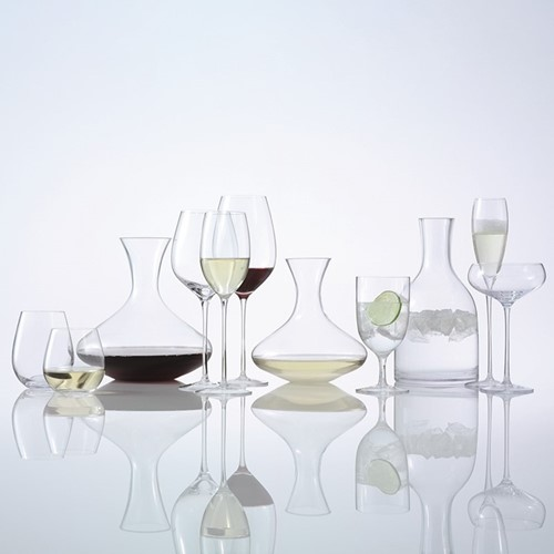 Wine Set of 4 champagne flutes, 160ml, clear