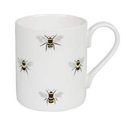 Bees White Mug, 275ml