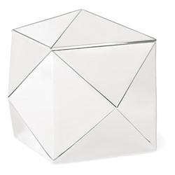 Raina Box, 16 x 16 x 15cm, silver