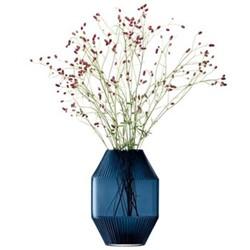 Rotunda Vase Sapphire Large 37cm, Blue