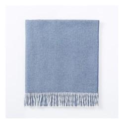 Vintage Throw, W130 x L180cm, slate blue
