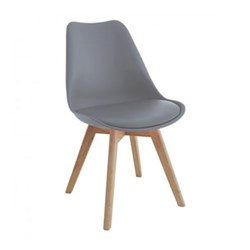 Jerry Dining chair, W47 x H84 x D55cm, grey