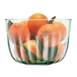 Mia Bowl Recycled Part Optic 23cm, Clear