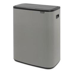 Bo Touch bin, 30 litre, mineral concrete grey