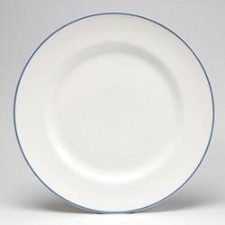 Dinner plate, 26cm, cornflower blue/white