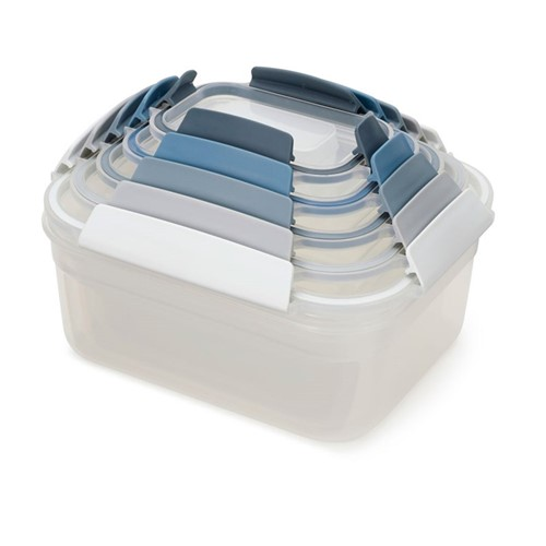 Editions 5 piece nest container set, Sky blue