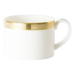 Satori Black Teacup - Charnwood, 22cl, black/white/gold