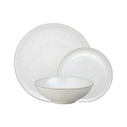 Modus Speckle 12 piece tableware set, beige/ natural